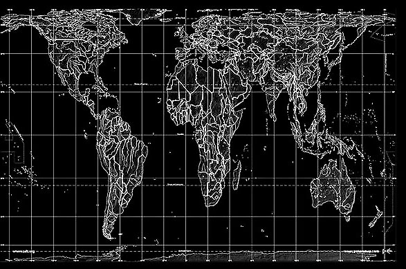 peter projection map